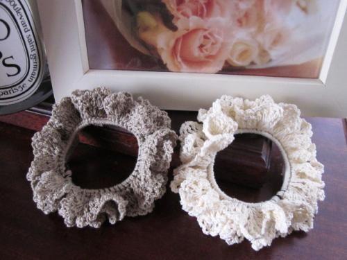 Hair Tie Crochet Pattern Crochet ??? Pinterest