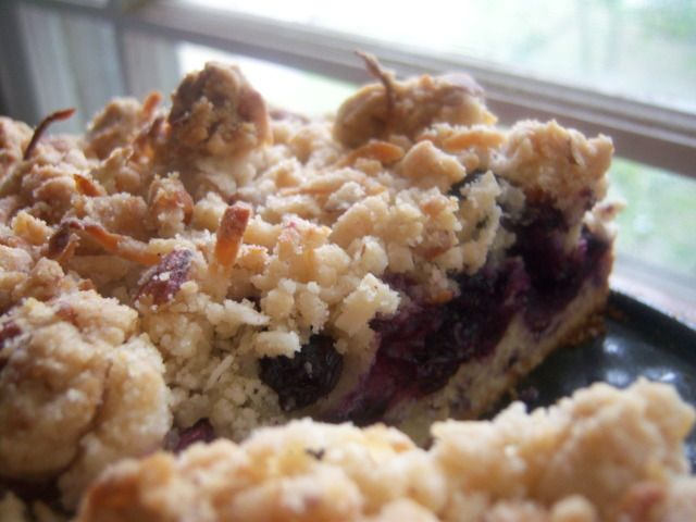 Blueberry Monster Crumb Cake | Cakes & Cheesecakes | Pinterest
