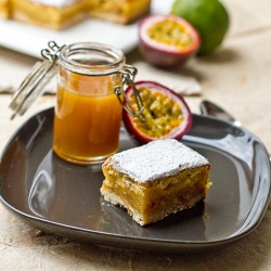 Lime & Passion Bars | Bars, Brownies and Blondies | Pinterest