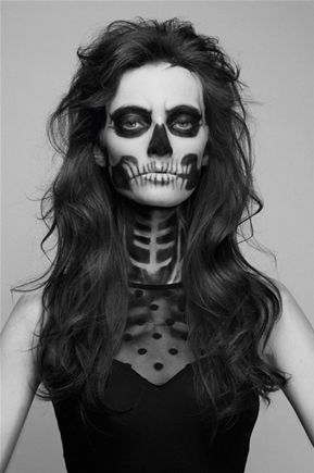 Dead and beautiful! Scary!