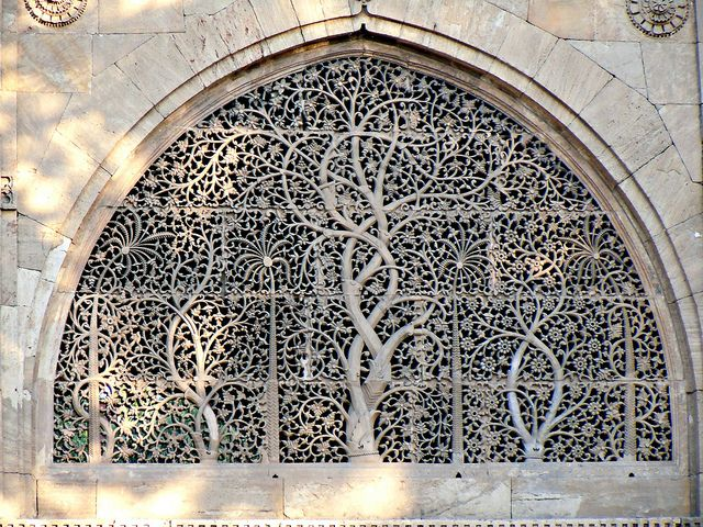Sidi Sayeed Masjid - Ahmedabad by FabIndia, via Flickr