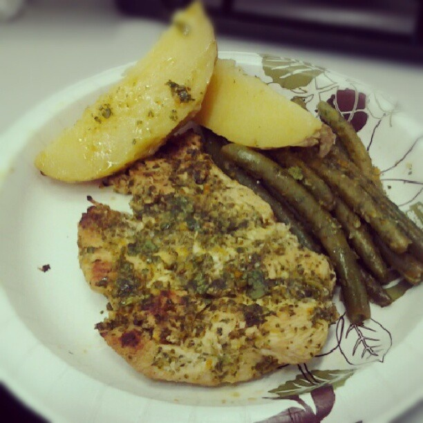 jadorebmore   Grilled chicken breast with chimichurri sauce ...