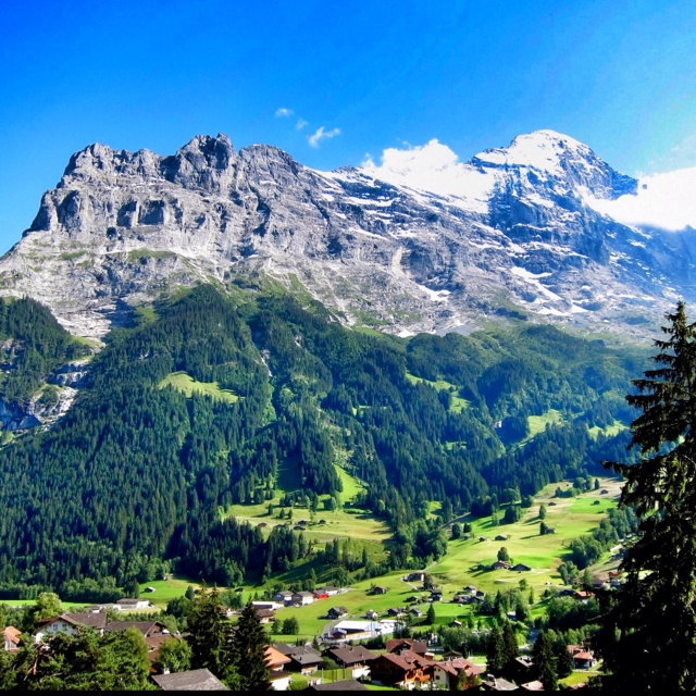 how tall is mount eiger