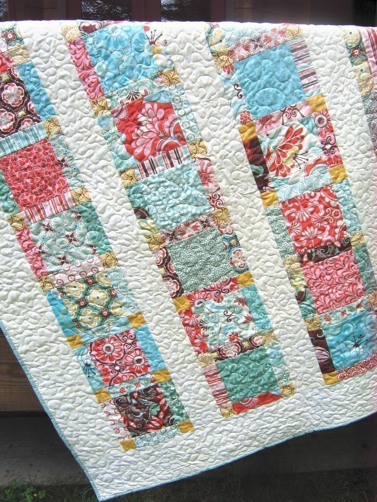 Easy Quilt Patterns With Layer Cakes : PDF QUILT PATTERN.... Easy...one Layer Cake, Angels Staircase