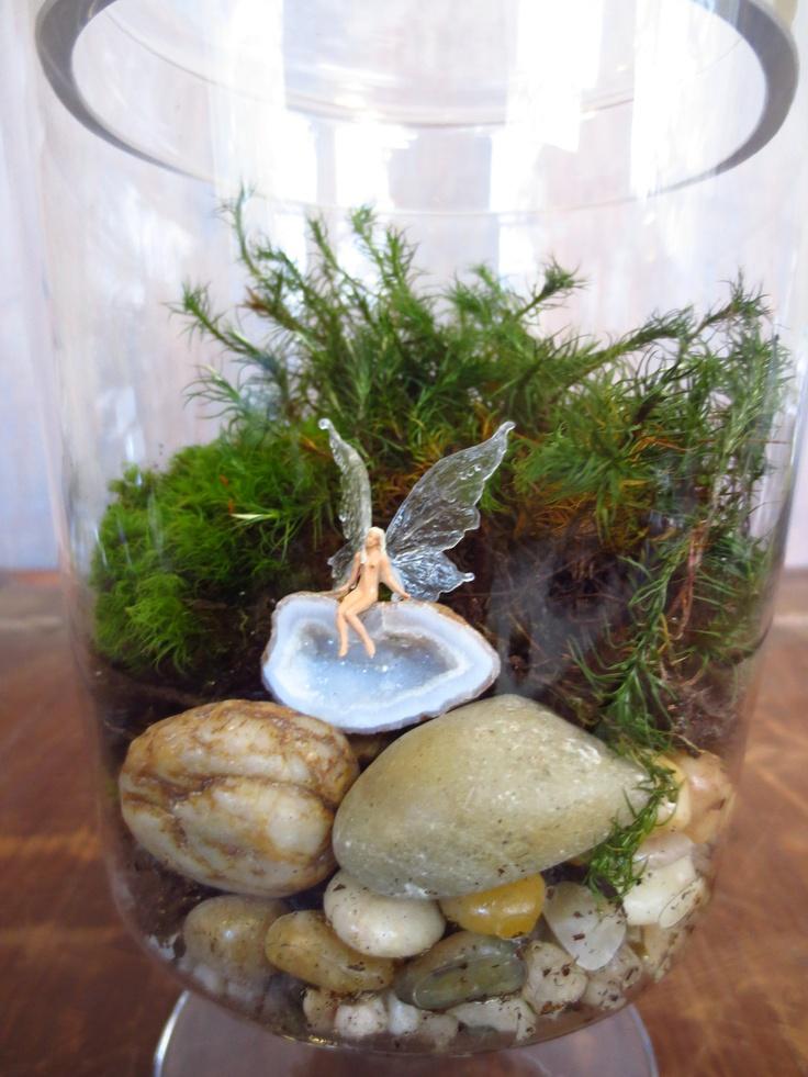 The Fae ariumTerrarium on Etsy Fairy Gardens Pinterest