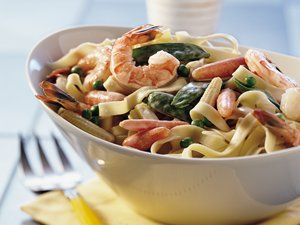 Try this spring vegetable fettuccine recipe from Betty Crocker ...