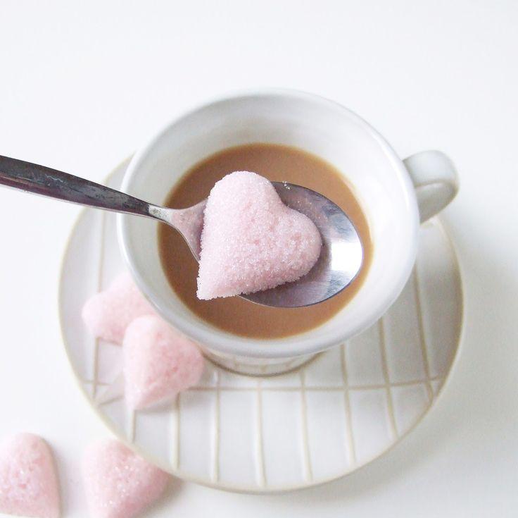 Gathering Beauty: Diy Sugar Cube Hearts.