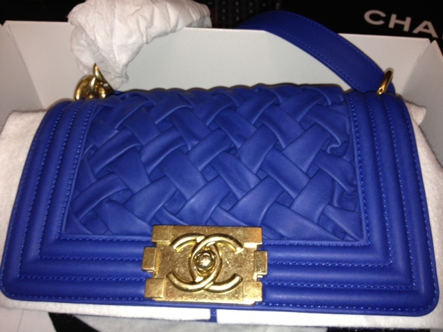 My Life: Chanel Boy Bag from Cruise 2013 Versailles Collection
