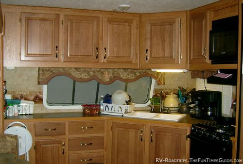This would be soooo nice remodeling my camper for Camper kitchen cabinets