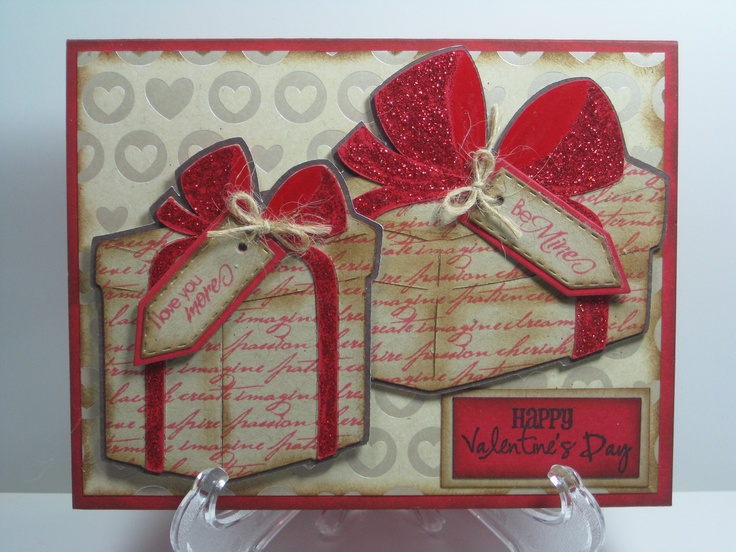 Valentines Day Card   Paper Creations   Pinterest