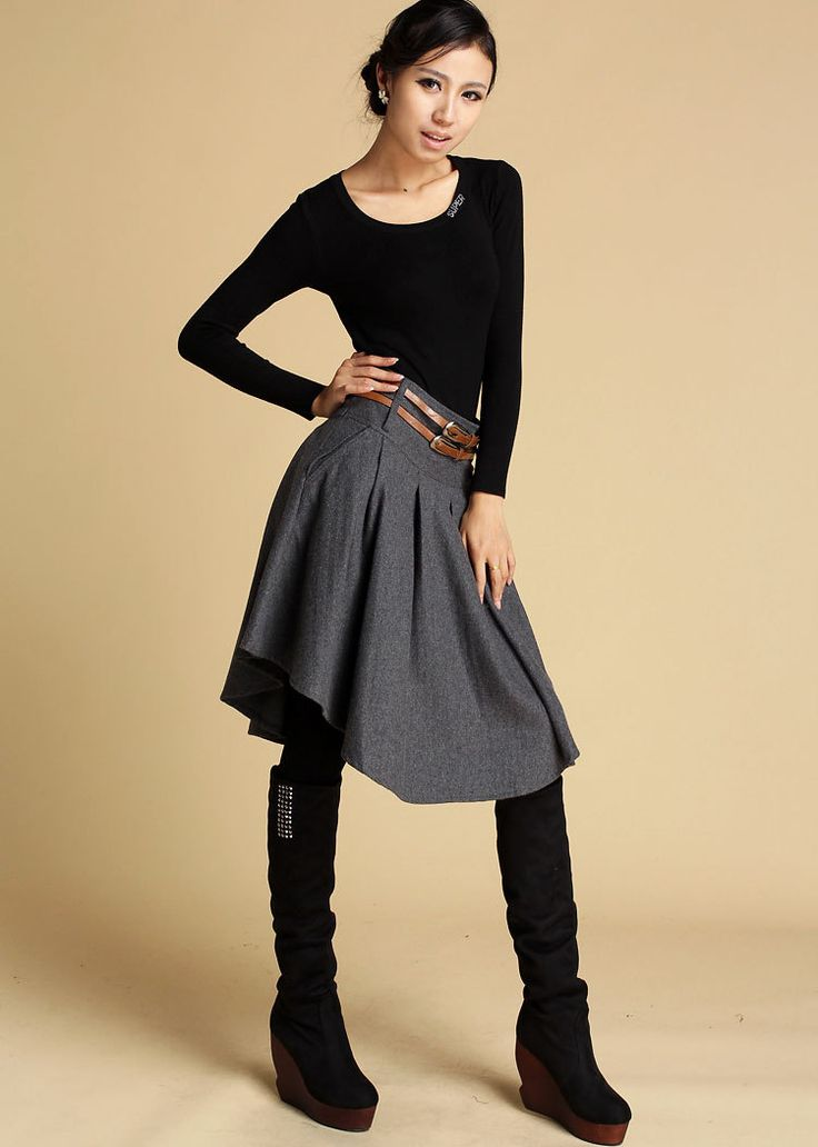 Dark Grey Dress image