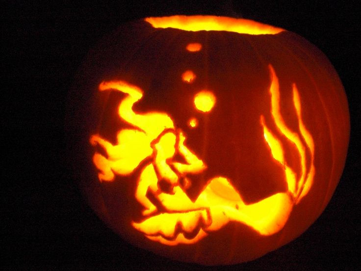 Mermaid pumpkin carving the gallery for gt little