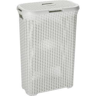 27cm depth long narrow linen basket ideas for tiny living spaces - Narrow laundry hamper ...