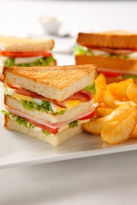 CLASSIC CLUB. I love club sandwiches!!