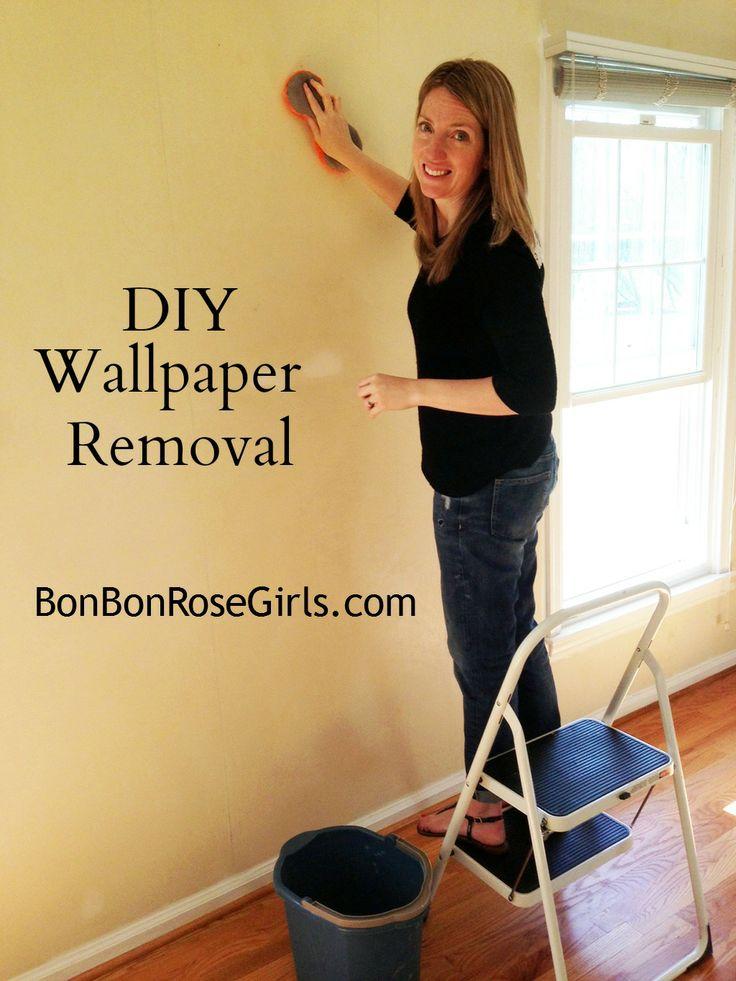 diy wallpaper removal part ii