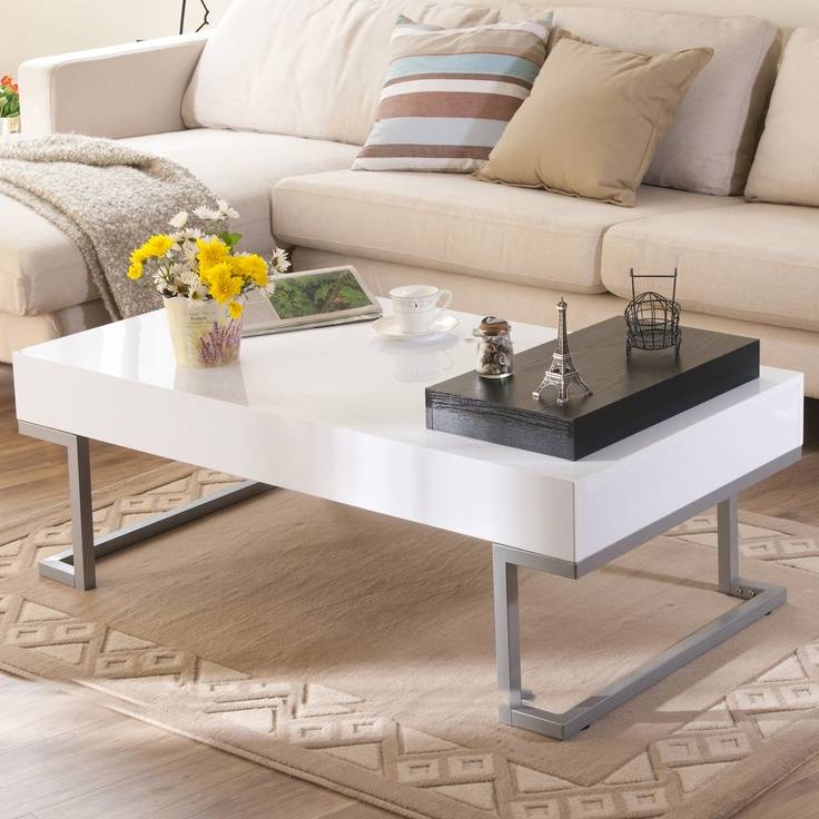 Hokku Designs Elle Modern Coffee Table 239