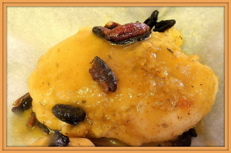 My Sweet and Savory: Chicken Cutlets with Pecan Sauce