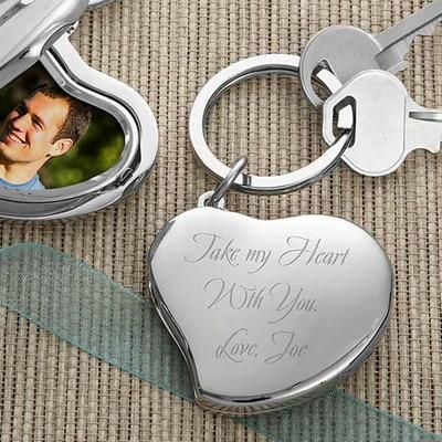 personalized key rings for father's day