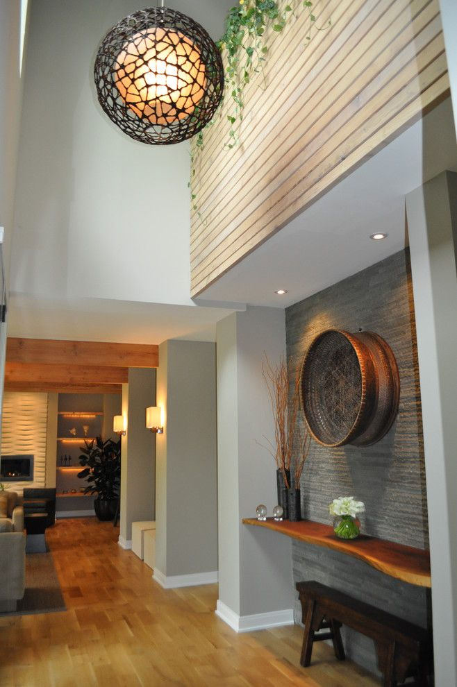 Decorating A Two Story Foyer : Two story foyer sarah dippold design entry hallway