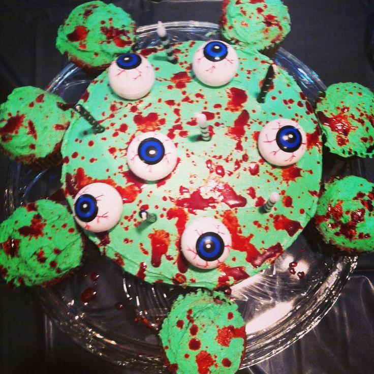 Homemade Zombie Birthday Cake Ideas And Designs
