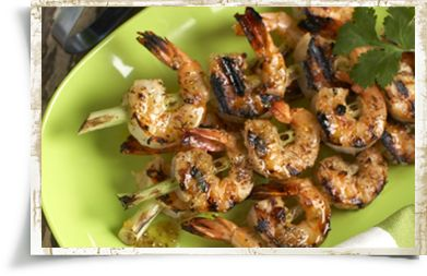 Garlic and Herb Lemongrass Shrimp. Grill these flavor packed shrimp ...