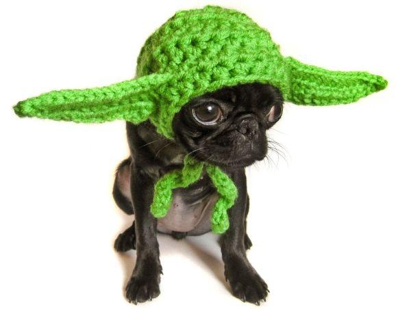 Crochet yoda hat Crochet Pinterest