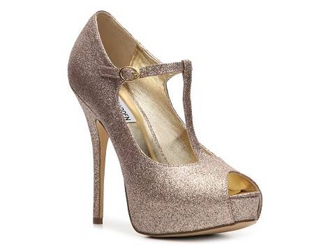 All that glitters is gold, and you'll be the life of the party in these glam gold heels. Pair them with black tights so your LBD shines even more. 10) Audrey Brooke Glenda Pump in Silver (uninewz.ga
