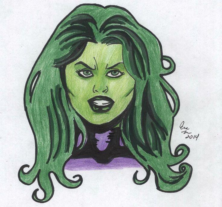 She Hulk Fan Art | Eric Turner | Pinterest