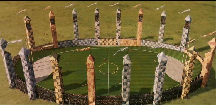Quidditch pitch by serdd deviantart com on @deviantart