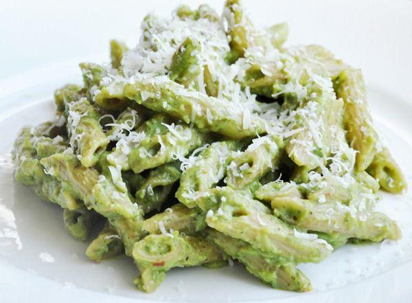 Creamy Avocado Pesto Pasta | Recipes - Pasta - Dishes* | Pinterest