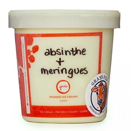 Absinthe Ice Cream Recipe — Dishmaps