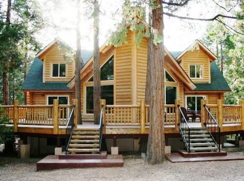 Idyllwild Cabins on Luxury Log Cabin   Idyllwild   Poor People Can Dream