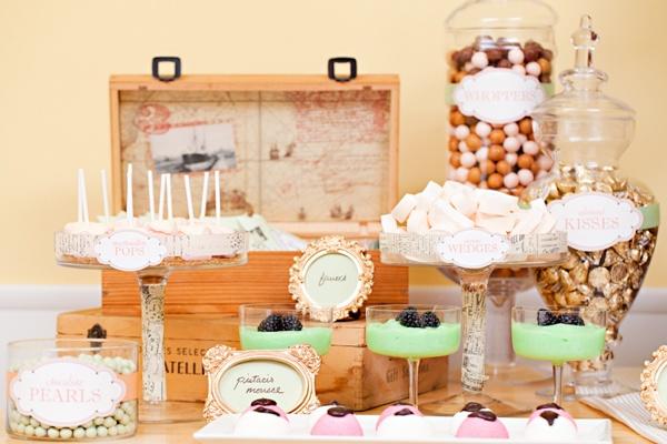 Treat Table Wedding Ideas Pinterest