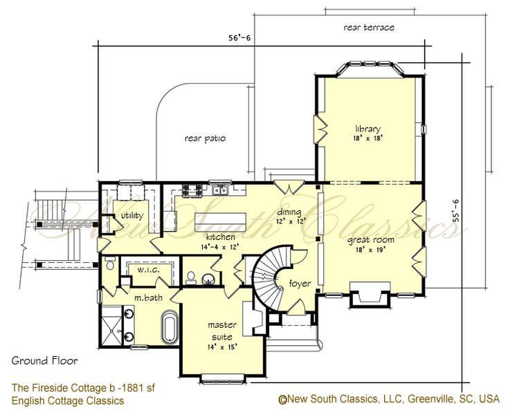 9 spectacular basement master suite architecture plans for Basement suite plans