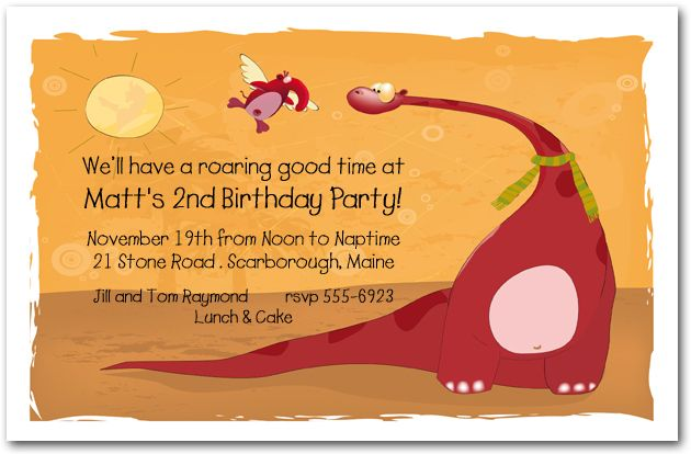 Dinosaur Birthday Party Invitations absolutely amazing ideas for your invitation example