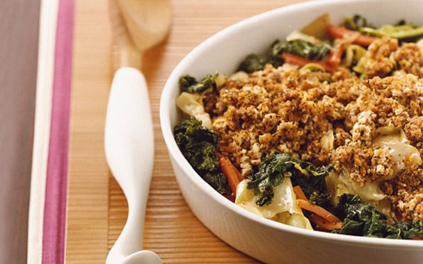 Vegetable Casserole with Tofu Topping | Savory Scrumptiousness | Pint ...
