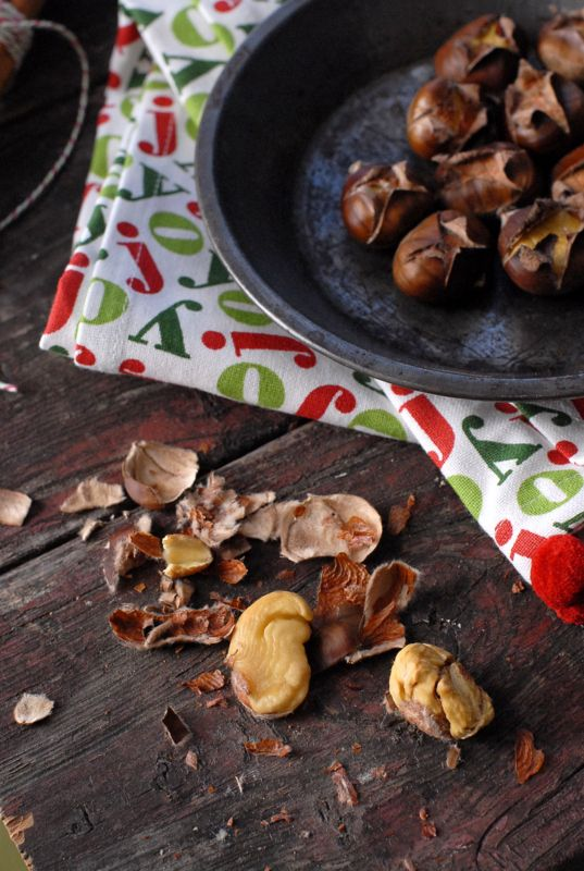Best method for roasting chestnuts makes the chestnuts soft sweet