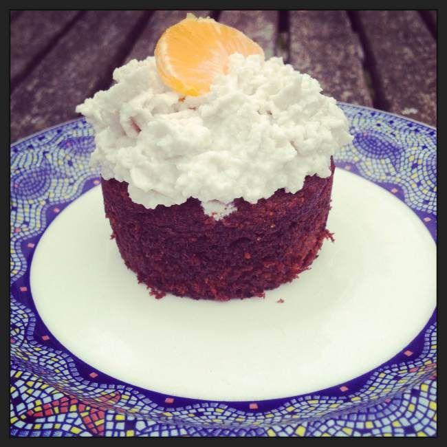 Orange & rhubarb paleo cupcakes | Food | Pinterest