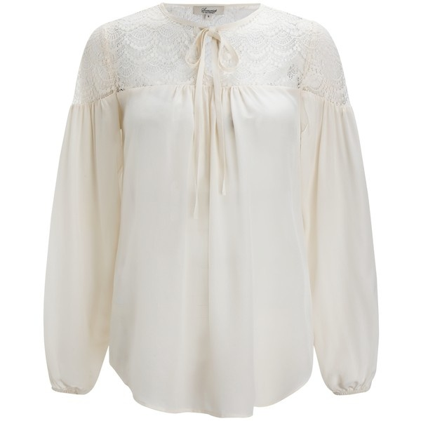 Somerset By Alice Temperley Cream Lace Blouse 17