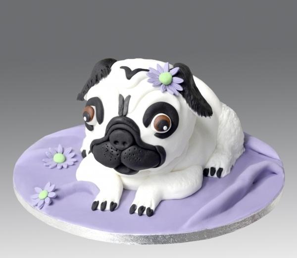 Pug Dog Cake Images : Pug Dog Cake Dog Desserts Pinterest