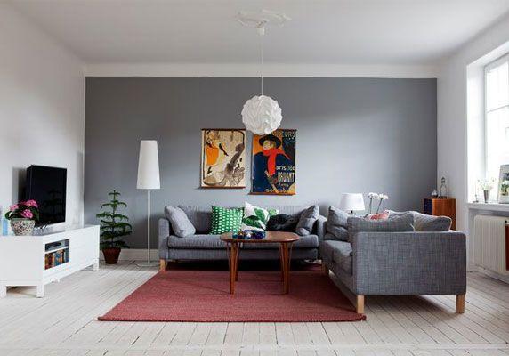 Un appartement contemporain  déco salon  Pinterest