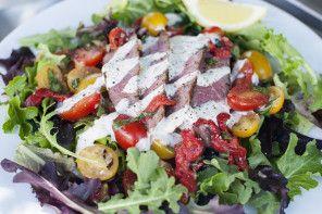 Bruschetta Steak Salad | Food | Pinterest