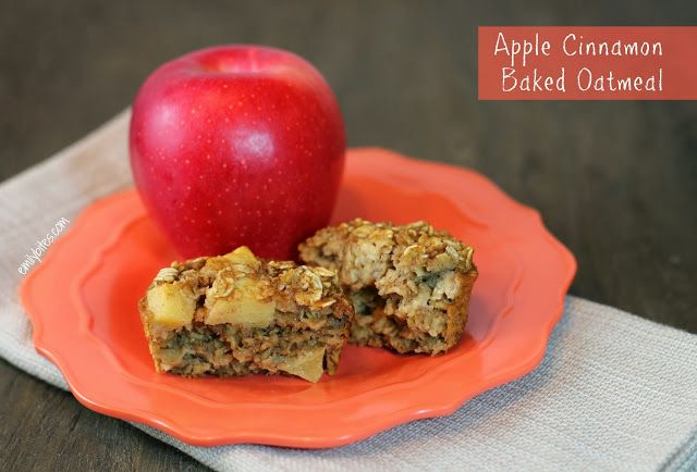 ... Weight Watchers Friendly Recipes: Apple Cinnamon Baked Oatmeal Singles