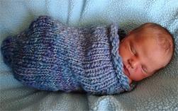 Baby Cocoon Crochet Pattern | Red Heart