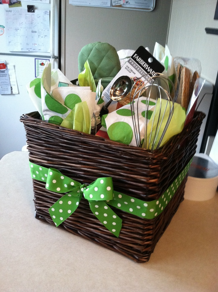 Kitchen Bridal Shower Gift Ideas : Bridal Shower Kitchen Gift Basket Ideas Bridal shower gift!! kitchen