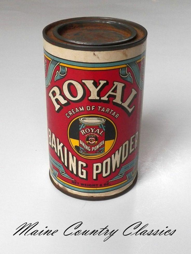 vintage royal baking powder - photo #35