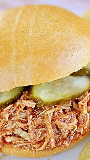 Slow Cooker Chicken Sloppy Joes | Entree Recipes | Pinterest