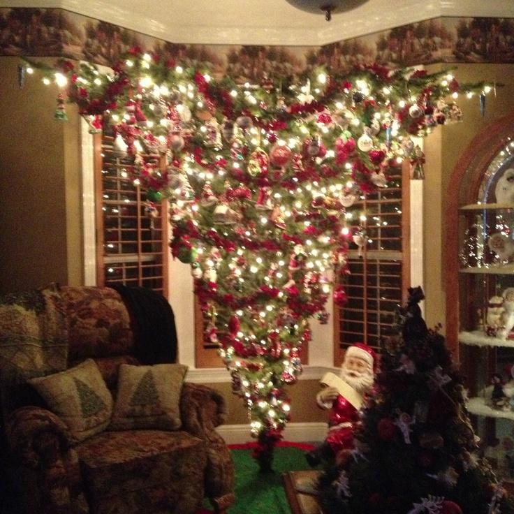 My Mom 39 S Upside Down Christmas Tree 39 Tis All Seasons