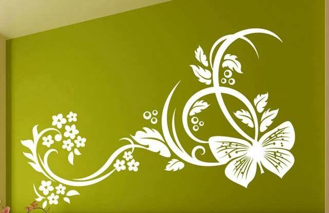 Рисунок для стен своими руками образцы 55