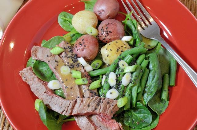 steak salad hanger steak salad recipe tasting table hanger steak salad ...